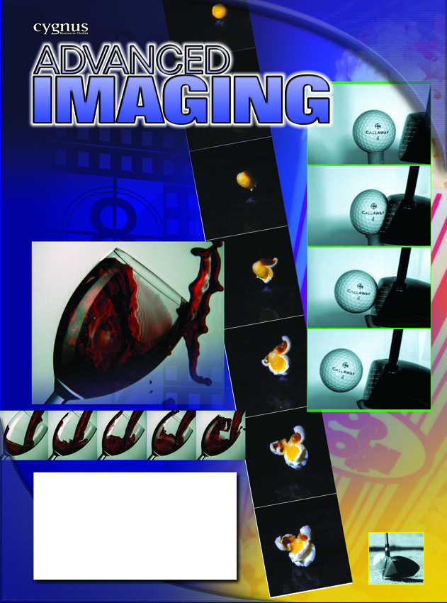 SMM Designed This Advanced Imaging Cover to Illustrate the Photron's High-Speed Camera Applications