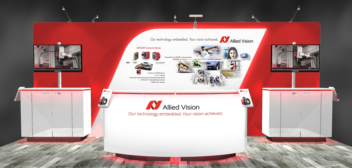 Allied Vision 10' x 20' Booth
