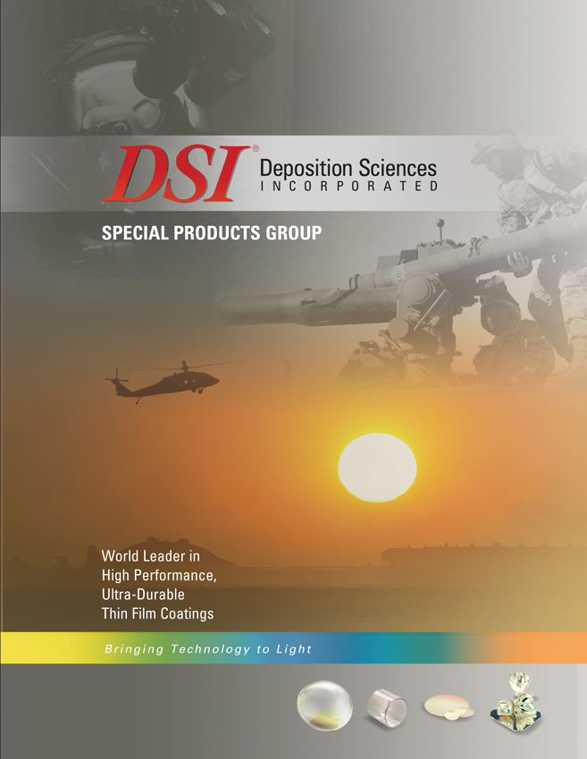 DSI Durable Precision Optical Coatings for Military and Defense Optics Brochure
