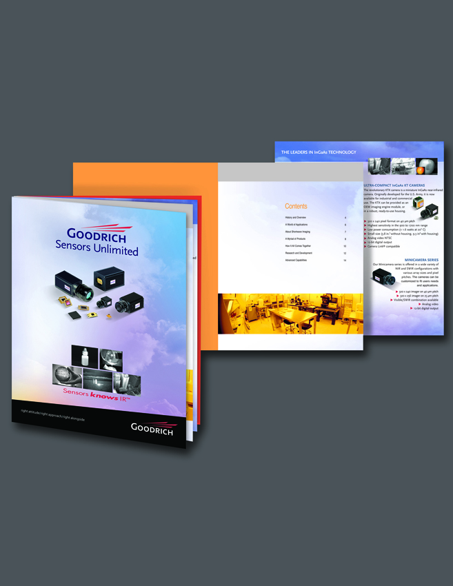 Goodrich-Sensors Unlimited SWIR InGaAs Cameras and Detectors Brochure