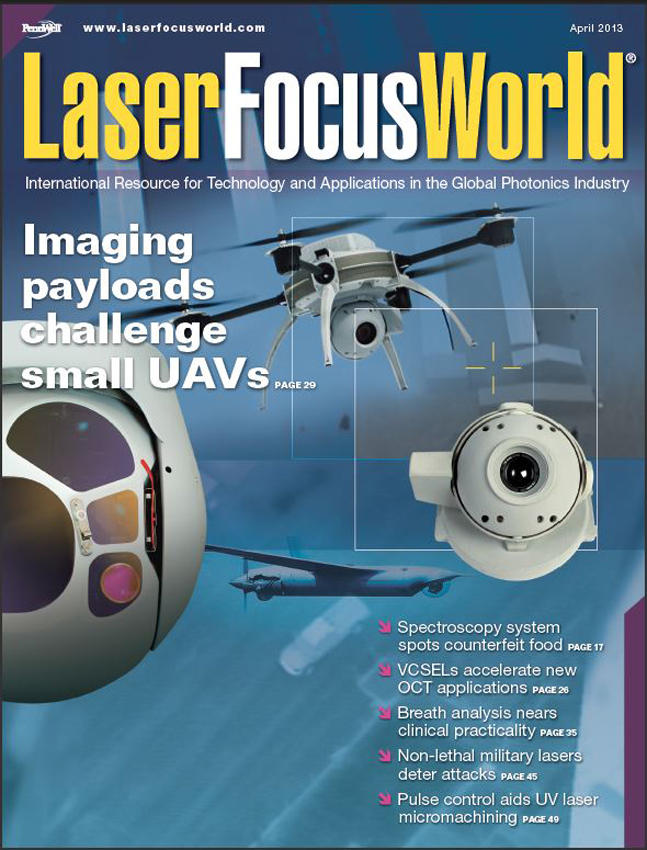 SMM Developed Cover Imagery Using Hood Tech Products for Laser Focus World