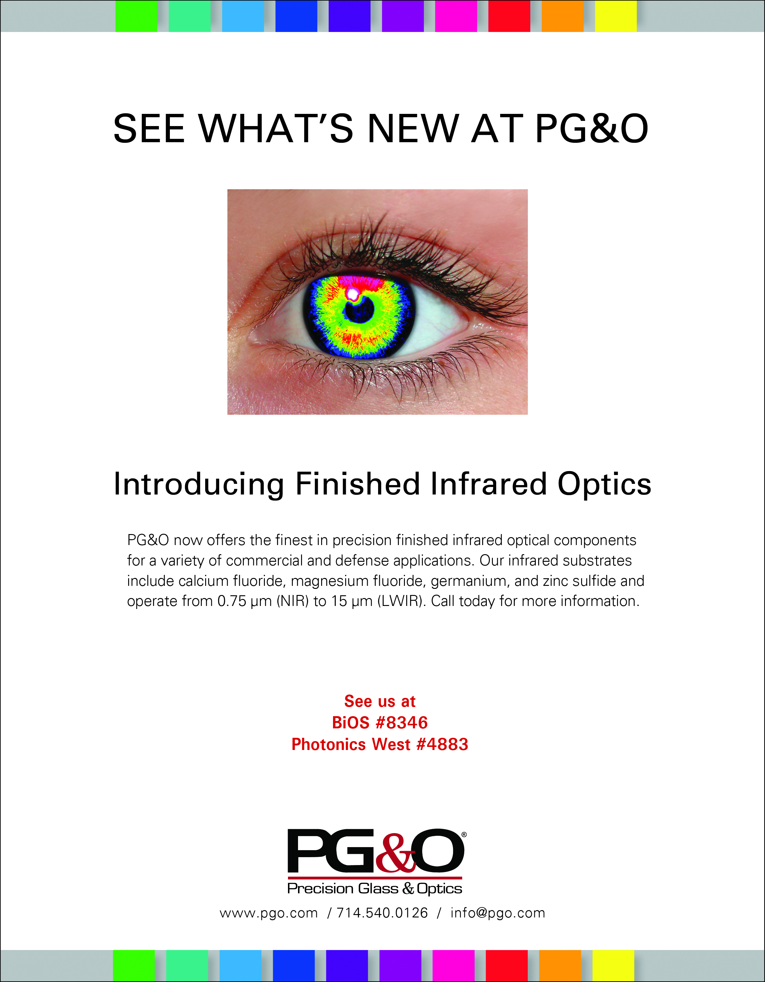 PG&O Finished IR Optics