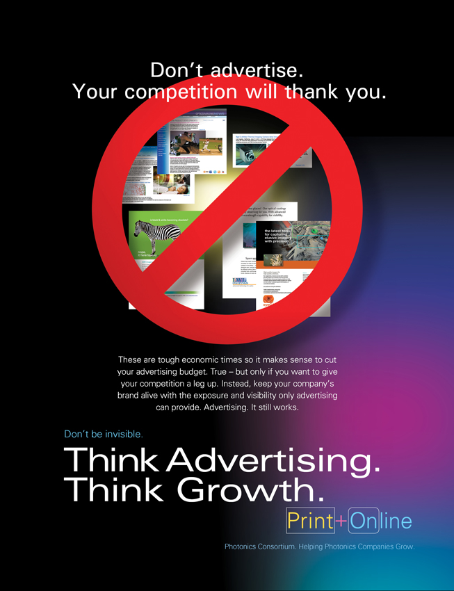 Grow Your Company with High-Tech Print and Online Advertising Ad