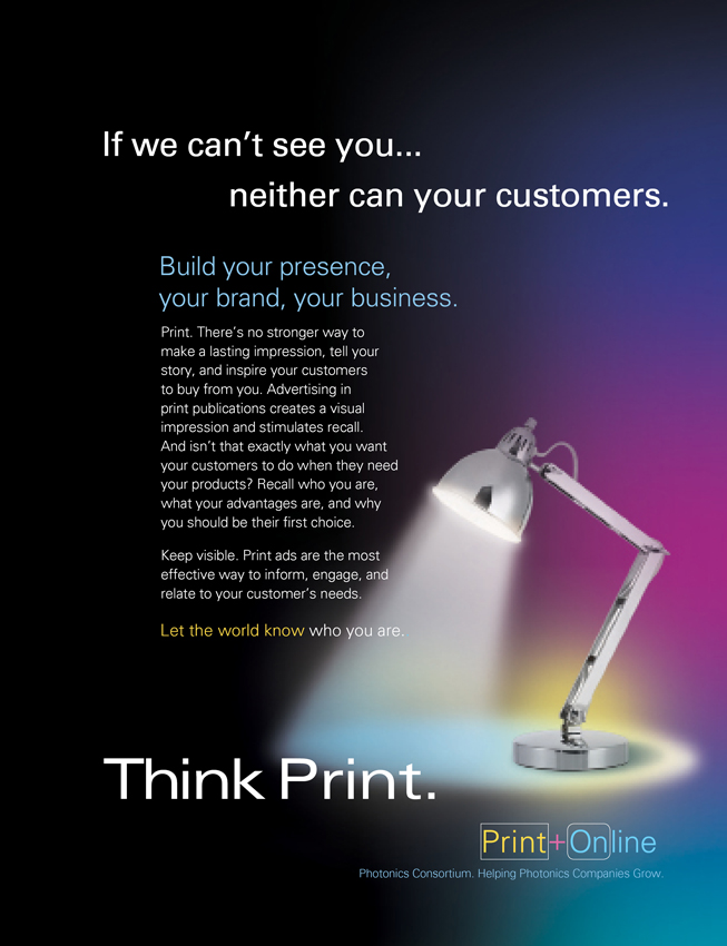 Build Your Business With Print and Digital Advertising Ad